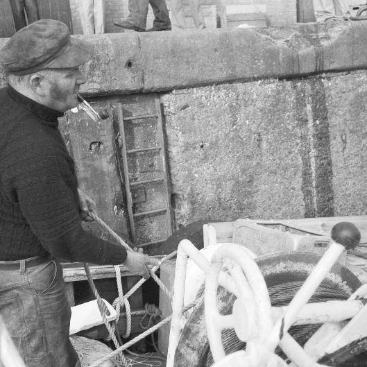 Skipper Cecil Finn, Ayr, 1984