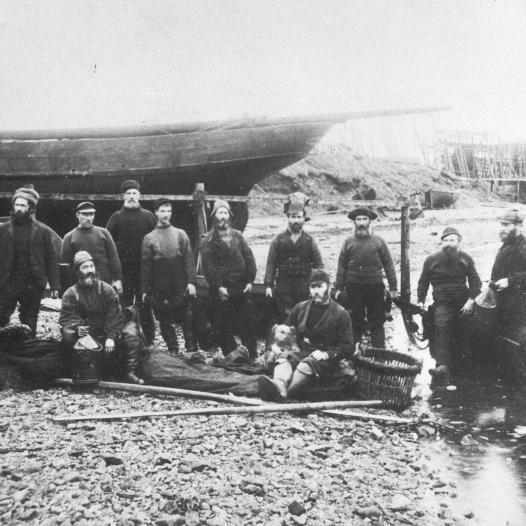 Crew of 'Fairy Lad', Campbeltown, c.1880